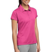 Ladies Contrast Stitch Micropique Sport Wick® Polo