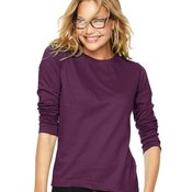 Women's Long Sleeve Premium Jersey Tee