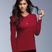 Women's Lightweight Ringspun Long Sleeve T-Shirt