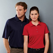 Ladies' JERZEES® DRI-POWER® SPORT Closed-Hole Mesh Polo