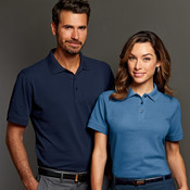 UltraClub Men's Basic Piqué Polo