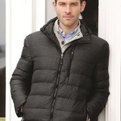 32 Degrees Hooded Packable Down Jacket