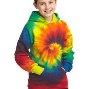 Youth Tie Dye Pullover Hooded Sweatshirt