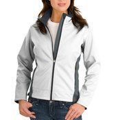 Ladies Two Tone Soft Shell Jacket