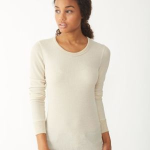 Women's Cozy Long Sleeve Eco Thermal Thumbnail