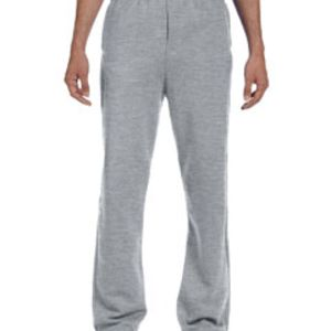 Adult 8 oz. NuBlend® Open-Bottom Fleece Sweatpants Thumbnail