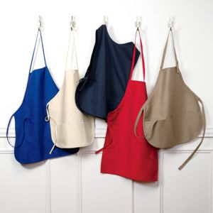 UltraClub Large 2-Pocket Bib Apron Thumbnail