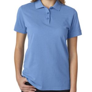 UltraClub Ladies' Basic Piqué Polo Thumbnail