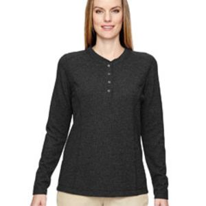Ladies' Excursion Nomad Performance Waffle Henley Thumbnail