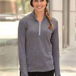 Golf Women's Brushed Terry Heather Quarter-Zip Jacket Thumbnail