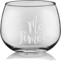 Me Time Stemless Wine Glass Thumbnail