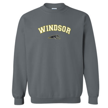 Windsor Athletic Sweat Shirt Design 3 - Graphite Heather Thumbnail