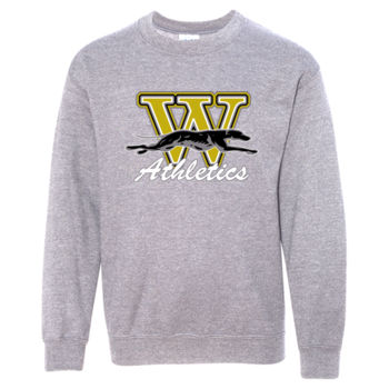 Windsor Athletic Sweat Shirt Design 1 - Graphite Heather YOUTH Thumbnail