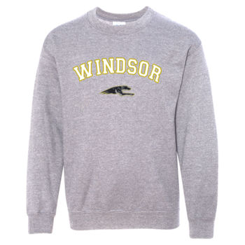 Windsor Athletic Sweat Shirt Design 3 - Graphite Heather YOUTH Thumbnail