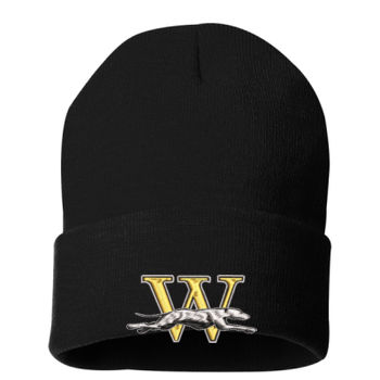 Windsor Athletic Solid Knit Beanie - Embroidered  Thumbnail